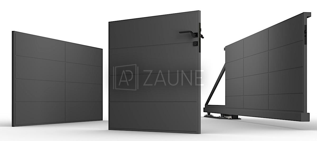 AP Zaune - Projekte - Verkauf und umfassende Montage von Metallzäunen